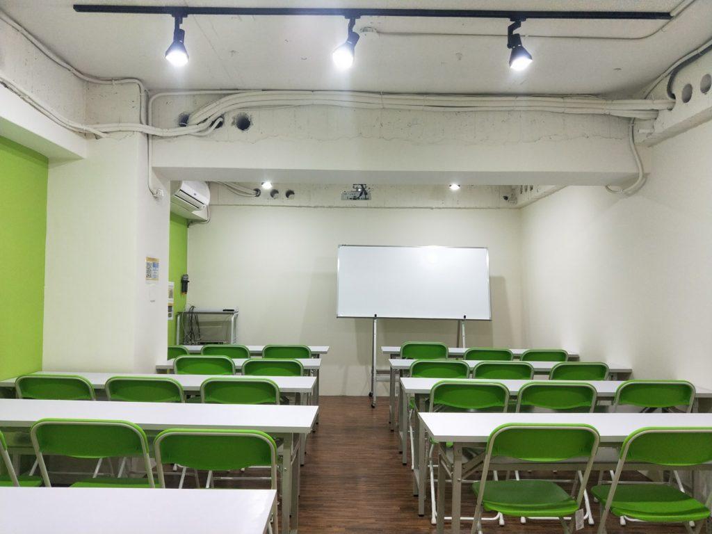 台中火車站85大樓A教室租借