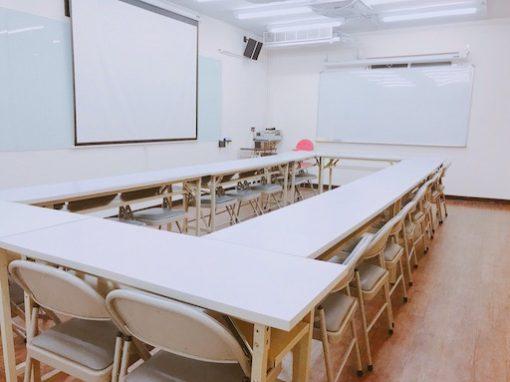 台北復興教室租借-502圓圈型