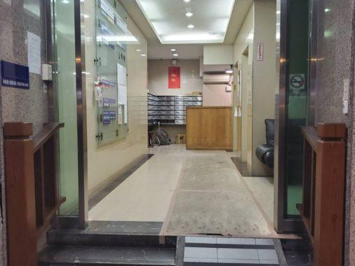 台北教室租借-大安教室 一樓無障礙入口