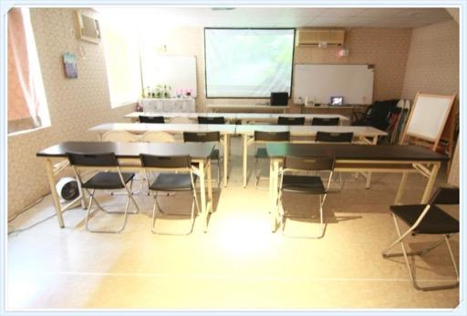 新北場地租借-府中站教室-教室型照1